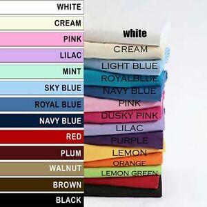 "New 24"" 26"" 28"" 30"" Plain Poly cotton Euro sham Large Pillow Case Cushion Cover"