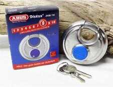 Abus 24IB/70 Weather High Security Diskus Padlock Storage Unit Made in Germany
