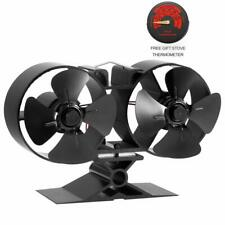 Fireplaces Stove Fan - Double Motor - 8 Blade Fire Stove Fan Specially for Room