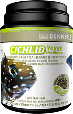 Dennerle Premium Fish Food: Cichlid Veggy 1000ml for Herbivorous Cichlids