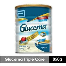 Glucerna Triple Care Diabetic Milk Powder Vanilla 850g + Free Shipping