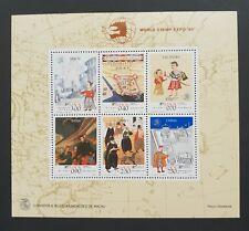 China Macau Macao 1989 World Stamp Expo  S/S