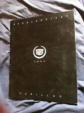 2002 Cadillac Escalade and  Escalade EXT Color Original Brochure Prospekt