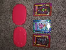 2000 Taco Bell Digimon Metal Card and red case case Card Set