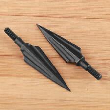 3pcs 150grain Willow Leaf Broadhead Arrowhead Crossbow Hunting Compound Bow