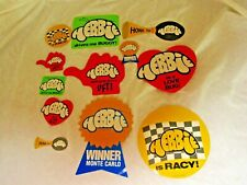HERBIE THE LOVE BUG ASSORTED DECALS, new, as pictured (LK)