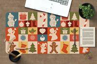 3D Quadratisches H34 Christmas Rutschfest Schreibtisch Matte Tastatur Pad Amy
