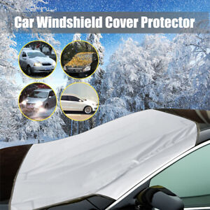 Magnetic Car Windshield Snow Cover Winter Ice Frost Sunshade Protector Guard US