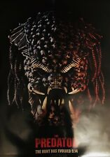 The Predator 2018 Original D/S Movie Poster 48x70 Teaser B