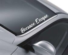 Evoque Windscreen Sticker Land Rover Rear Window Sticker QS52