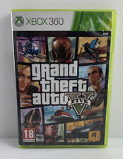 GTA 5 Grand Theft Auto Five XBox 360 2 Disc Set - Complete With Manual & Map