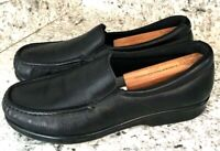 SAS Shoes Women's Simplify Black Leather Slip On Loafers sz 9.5 N Narrow
