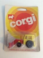 CORGI JUNIORS - TRACTOR WITH ANGLEDOZER - No:43 - 1973 NEW/SEALED