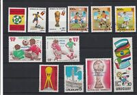 Football Mint Never Hinged + Used Stamps Ref 26260