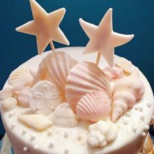 Conch Shells 3D Silicone Fondant Mold Cake Decorate Candy Chocolate Baking Mould