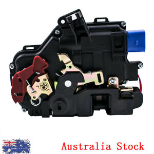 Door Lock Actuator Rear Left Passenger Side Fits VW Golf 5 V Jetta Touareg Caddy