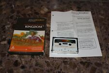 KINGDOM cinta ATARI 400/800 COMPUTER PROGRAM CASSETTE CX4102