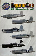 OOP 1/32 Barracuda BC32130 F4U-1 Birdcage Corsairs Part 1