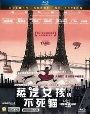 """Marion Cotill """"April and Extraordinary World"""" France Animation Region A Blu-Ray"""