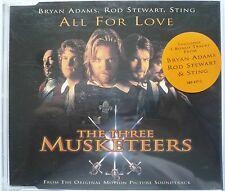 Bryan Adams, Rod Stewart & Sting - All For Love (CD Single from The 3 Musketeers