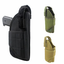 Tactical Molle Pistol Holster Adjustable Concealed Carry Gun Holster Hunt Pouch