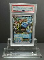 Pokemon 2016 XY Generations #18 M Blastoise EX PSA 10 Gem Mint