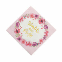 Mother'S Day Floral Luncheon Napkins - Party Supplies - 16 Pieces