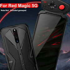 For ZTE Nubia Red Magic 5G Soft Gel Heat Dissipation Back Cover Case +PC Snap
