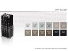 Touch Twin marker set 12er set cálido Grey