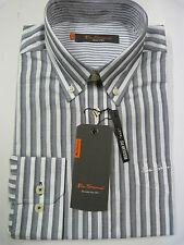 Ben Sherman Men's Striped Regular Button Down Casual Shirts & Tops
