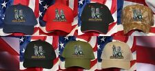 Proud To Be An American Hat Patch Statue Of Liberty Ny Patriot 911 Wtc New