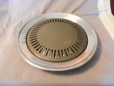 Smokeless Indoor Stove Top Grill / Steamer for Electric Stoves (M)