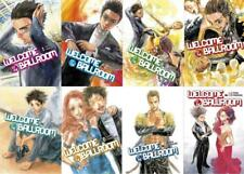 WELCOME TO THE BALLROOM Series MANGA by Tomo Takeuchi Collection of Books 1-8