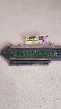 Light Up haunted house Sign Halloween Decoration Prop