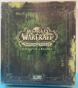 World Of Warcraft The Burning Crusade Collector's Edition Incomplete