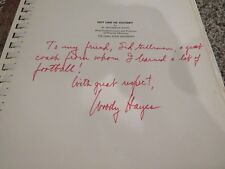 Woody Hayes signed autographed Hot Line to Victory RARE inscribed to Sid Gillman