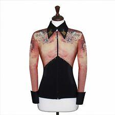 SMALL  Showmanship Pleasure Horsemanship Show Jacket Shirt Rodeo Queen Rail Top