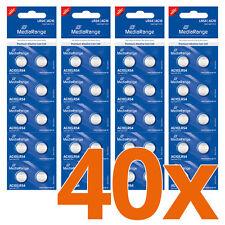 40x AG10 Knopfzelle 1,5V Batterie LR54 Uhrenbatterie
