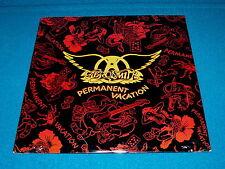 "Sealed Record Club! AEROSMITH ""Permanent Vacation"" LP VINYL : Geffen GHS 24162"