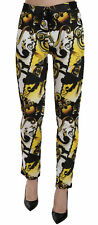VERSACE JEANS COUTURE Pants Baroque Multicolor Print Trousers s. XS RRP $300
