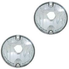 74-77 Camaro Front Turn Signal Parking Light Lamp Lens Pair OER New