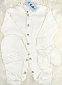 Baby  Romper Newborn Boy Girl  Clothes Cap Mittens Set
