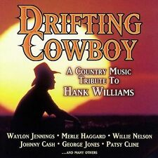 Drifting Cowboy Country Music CD Tribute Hank Williams,Johnny Cash, Patsy Cline