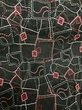 4 METRES GOOD QUALITY NET/LACE FABRIC BLACK 140 CM WIDE LATEST CHEAPEST ON EBAY