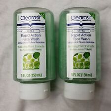Lot of 2 NEW - Clearasil Perfecta Wash Refills Soothing Plant Extracts