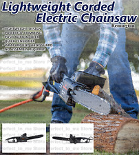 Cutting Outdoor Electric Chainsaw Corded Saw Limb Auto Powered Tension REMINGTON