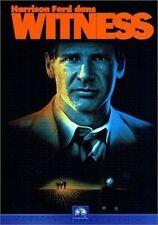 DVD *** WITNESS *** avec  Harrison Ford  ( neuf sous blister)