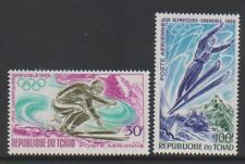 Chad - 1968, Air. Winter Olympic Games, Grenoble set - MNH - SG 200/1