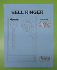 1990 Gottlieb Bell Ringer pinball rubber ring kit