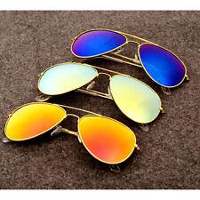 Fashion Unisex Vintage Retro Women Men Glasses Aviator Mirror Lens Sunglasses ky